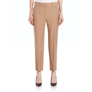 NWT Theory Lavzin Continuous Pants Camel Sz 6 {E}